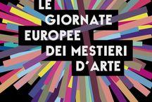 Le giornate Mestieri d'Arte europee / Valori e Cultura dei Mestieri d'Arte
