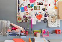 * Creative work space *