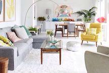 Salas • / Inspirações de salas de estar específicas.