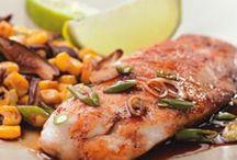 seafood recipes / by Ashley Etzkorn