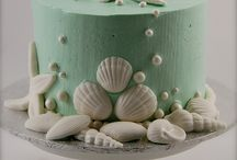 wedding sea cakes