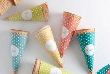 Babies party ideas-Ice cream