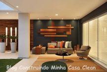 Varandas Modernas! / Veja + Inspirações e Dicas de decoração no blog!  www.construindominhacasaclean.com