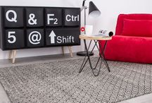 Black Fri-rug-days / Inspiration for black rugs!