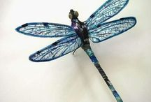 DRAGONFLIES / by Marcia Grossell