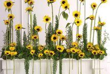 kompozycje kwiatowe w kosciele