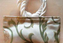 Moirè / Pochette fatte in tessuto d'arredamento. www.charmmme.com