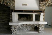Fireplace De Carina ( hands work ) / open fireplaces  construction and build - De Carina kamini  www.decarina-kamini.com