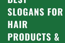 Best Slogans for Hair Products & Taglines