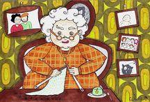 Rencontres tricotesques / Tricots thés  et rencontres ...........