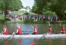 Bumps and Carnage / The four-day rowing races between the colleges of the University of Cambridge are known as 'Bumps and Carnage', and have been held twice a year since 1827.
