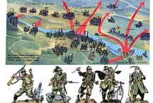 soldati e battaglie