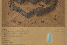 podklady pro mapy a fantasy ikony