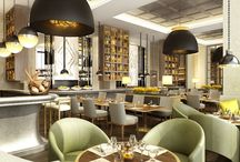 interior design and architecture of restaurants. inspirations.