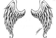 Wing Tattoo Designed