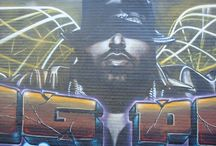 Graffitis & 3D / viajar a través de los graffities / travelling trought graffities