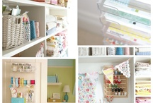 sewing spaces and storage / Future sewing room ideas