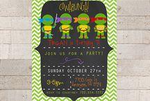 Party Ideas - Ninja Turtles / by Nidya de Hoyos