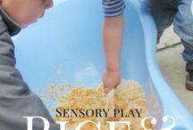 Play group sensory ideas