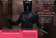 RETAIL RULES / Visual merchandising para empresas de diseño y moda M Conover Estudio San Ángel Inn.