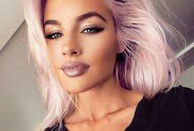 Hiukset, väri & kampaukset