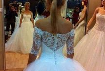 Wedding dresses, shoes & accessories