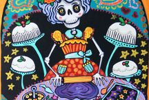 day of the dead kitchen