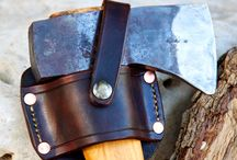 Badger / Leather goods for steel and stuff / by Sarah Maynard