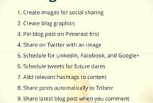 Social Media Marketing Library / You will find all the social media marketing tips you need on this board. Here you will find content on general topics like creating a social media strategy & creating images and on more focused topics like Pinterest marketing, Facebook marketing, Twitter marketing, Instagram marketing, Linkedin marketing and more.