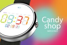 Candy Shop Watch Face / Tweak your smartwatch with the sweetest Candy Shop Watch Face!