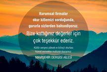 Mavişehir Dergisi / Mavişehir Dergisi'nde yayınlanmış görsellerin paylaşımı