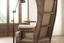 Кресла и стулья из дерева