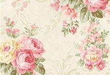 Floral tapet