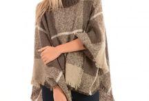 Jayley Knit Poncho