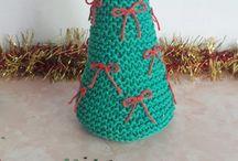 Árbol Navidad a dos agujas