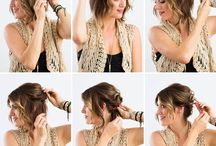 Braids,updos and so on