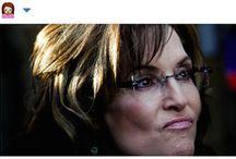 Sarah Palin or Emoji? / A striking resemblance.