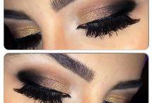 Smokey eyes & Eye make-up