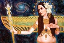 Deusas / Imagens inspiradoras sobre o feminino sagrado