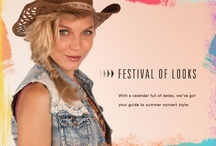 Peace, Love & Music - Women / Get inspired with this indie collection for festival season! / by Buckle