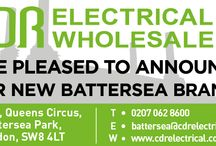 CDR Electrical Wholesalers in Battersea / On 10th November, 2014, our associates over at CDR Electrical Wholesalers opened their newest branch, right in the centre of Battersea! Check them out. T: 0207 062 8600 E: battersea@cdrelectrical.co.uk Arch 68, Queens Circus, Battersea Park, London, SW8 4LT