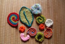freeform knitting croket