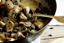 Food - Soup, veg, salad, potatoe / by Jenette Reneau