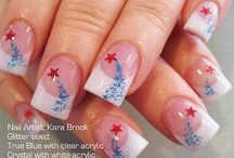 4th nails/ crafts/ deco