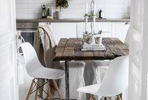 Beautiful Scandinavian interior design / Furniture, Scandinavian furniture, design, interior