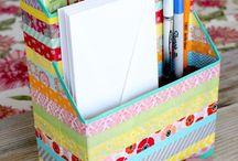 Riciclo scatole cartone