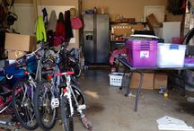 "Garage Organization / A.K.A. the other ""Man Cave"""