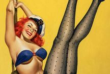 PinUp, Vintage 20s, 40s, 50s, 60s and 70s and more.