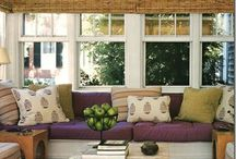 Sunroom style  / by Hawthorne at Horse Pen Creek