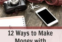 Making money at Home / Ideas that could be used to make money while I'm home with John.